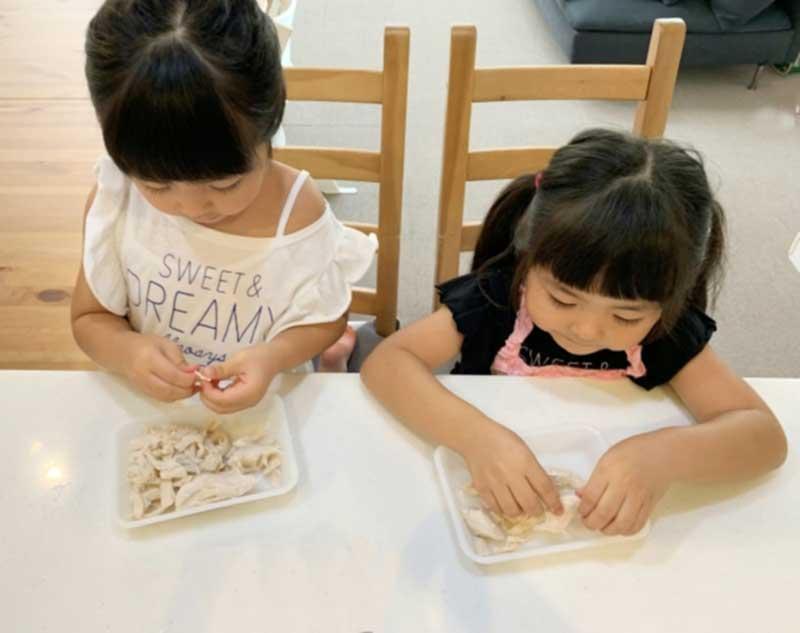 子ども 料理のお手伝い